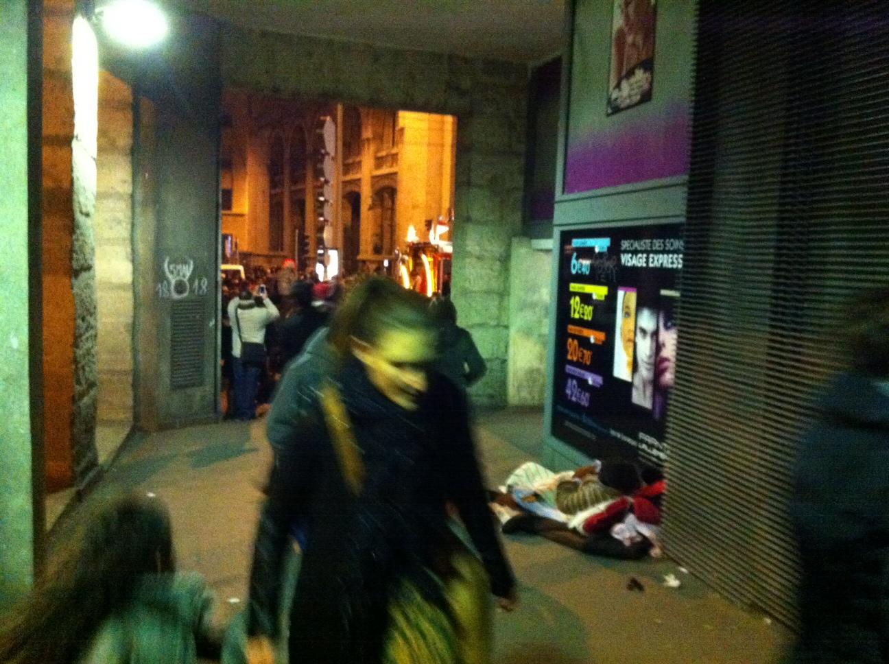 Le Sans Abri de la Rue Sainte
