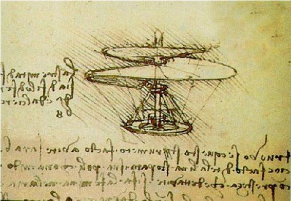 Hélico de Vinci
