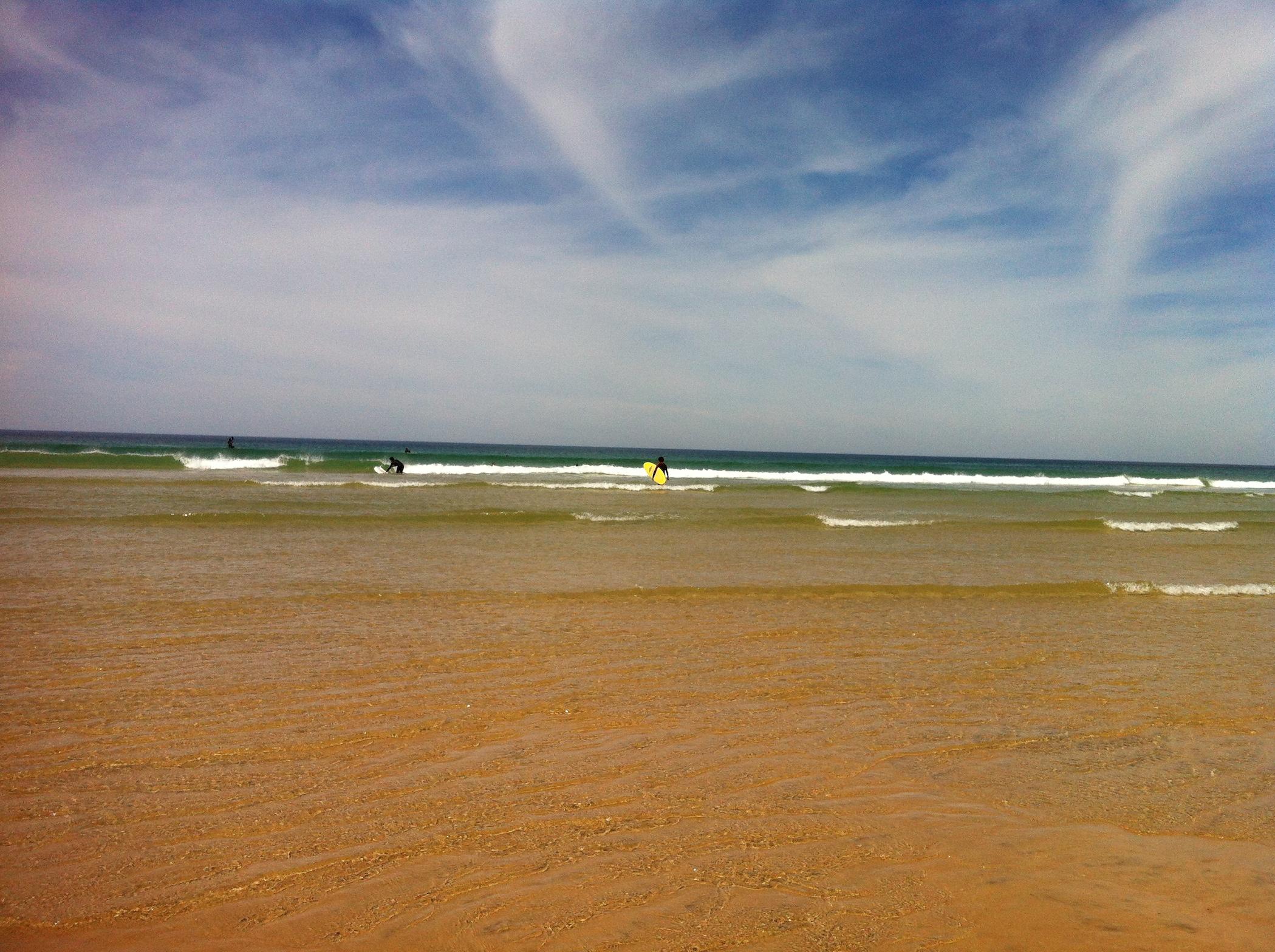 surf jaune